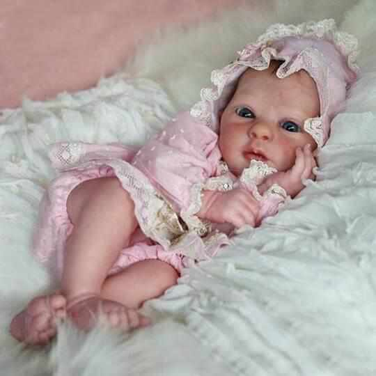 "[Special Discount] Realistic 21"" Adelaide New Silicone Reborn Baby Doll"