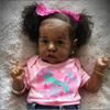 22'' Little Jean Reborn Baby Doll ,Handmade Realistic Baby Doll For Girls