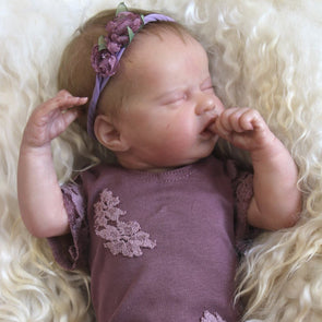 17 Inch Sweet  Real Lifelike Paislee Softtouch Reborn Baby Doll Girl