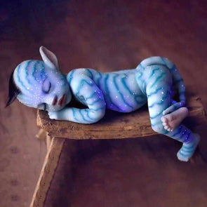 "20 "" Aries Sleeping Luminous Silicone Vinyl Reborn Baby Doll"