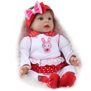 "22"" Little Berkley : Reborn Baby Doll Girl - rebornbabygirl"