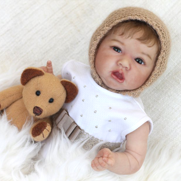 22'' Realistic Lifelike Handmade Willow Reborn Baby Doll