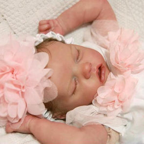 17 Inch Real Lifelike Yareli Reborn Baby Doll Girl,Realistic Toys Gift Lover
