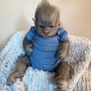 Realistic 17 '' Real Lifelike Serenity Reborn wolf Baby Doll