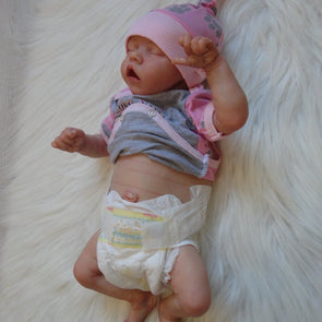 17 Inch Softtouch Real Lifelike Kinley Reborn Baby Doll Girl,Lifelike Kids Gifts