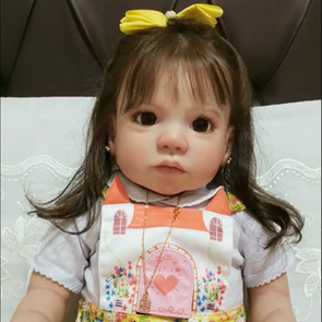 Lifelike 22'' Little Cute Garcia Reborn Baby Doll Girl