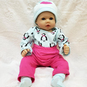 22'' Little Juliana Reborn Baby Doll Girl