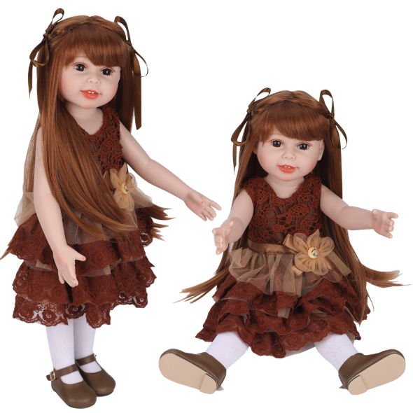 18'' American Girl Aurelia and Noa Doll