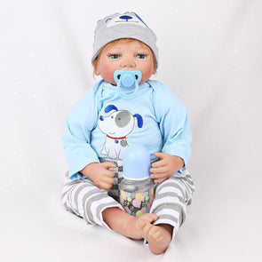 "22"" Little Aiden : Reborn Baby Doll Boy - rebornbabygirl"