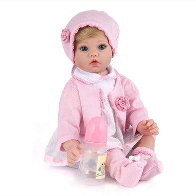 22 Inch Little Perla Reborn Baby Doll Girl