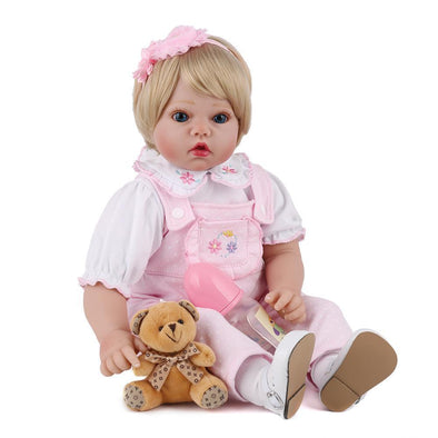 22 Inch Little Karlee Reborn Baby Doll Girl