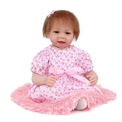 "22"" Little Saniyah : Reborn Baby Doll Girl - rebornbabygirl"