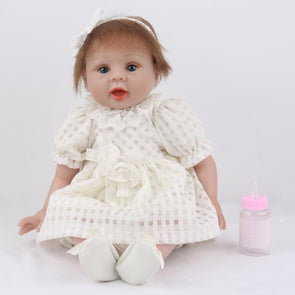 "22"" Little Avalyn : Reborn Baby Doll Girl - rebornbabygirl"