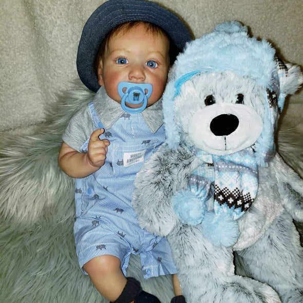 Real Life 22'' Handsome Jackie Reborn Baby Doll