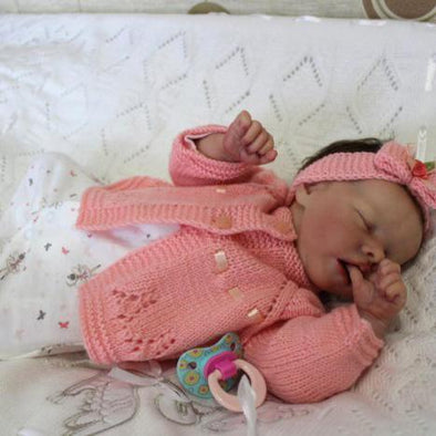 17'' Real Lifelike Halle Reborn Baby Doll Girl Toy