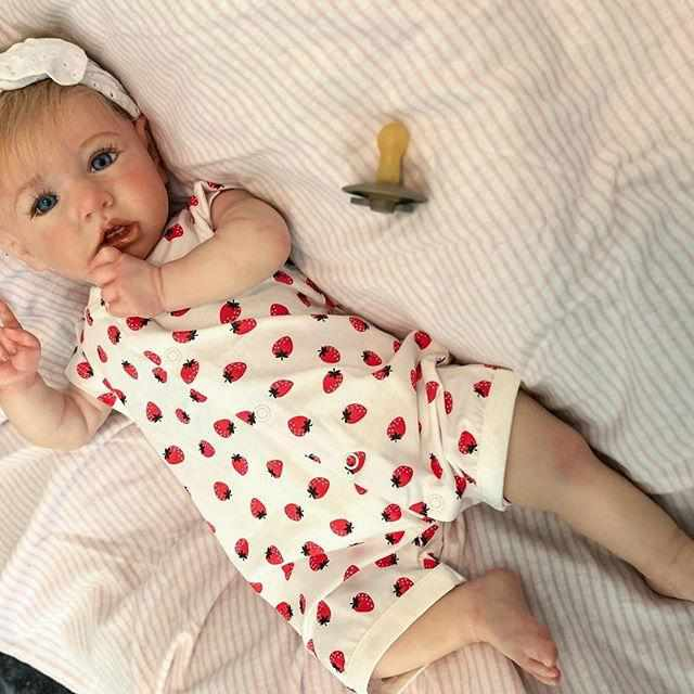 [Special Discount] Realistic 22'' Lifelike Mia Reborn Baby Doll Girl With Coos And
