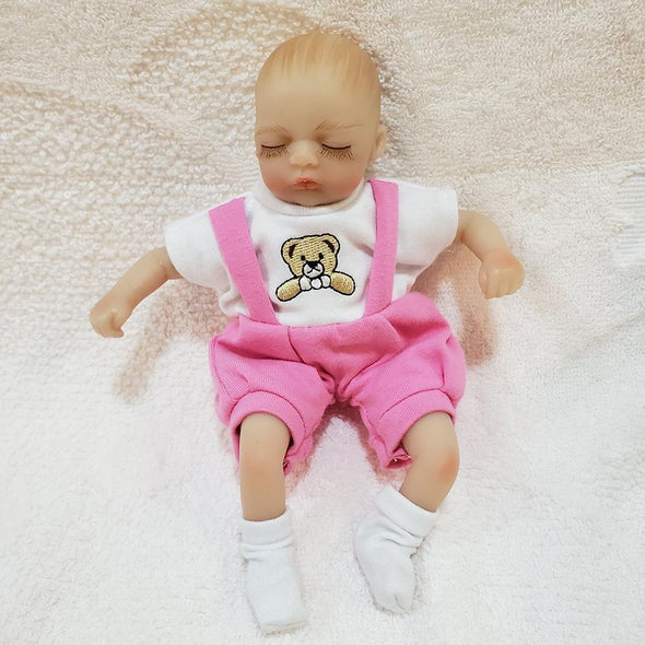 8'' Little Ariel Reborn Baby Doll Girl