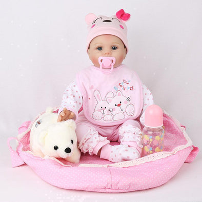 "22"" Little Queen : Reborn Baby Doll Girl - rebornbabygirl"