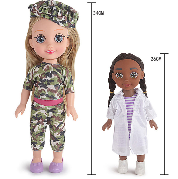 American Girl Janiyah, Jessie and Madisyn Doll