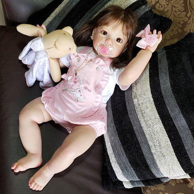 22'' Sweet Honey Beautie Summer Reborn Baby Doll Girl
