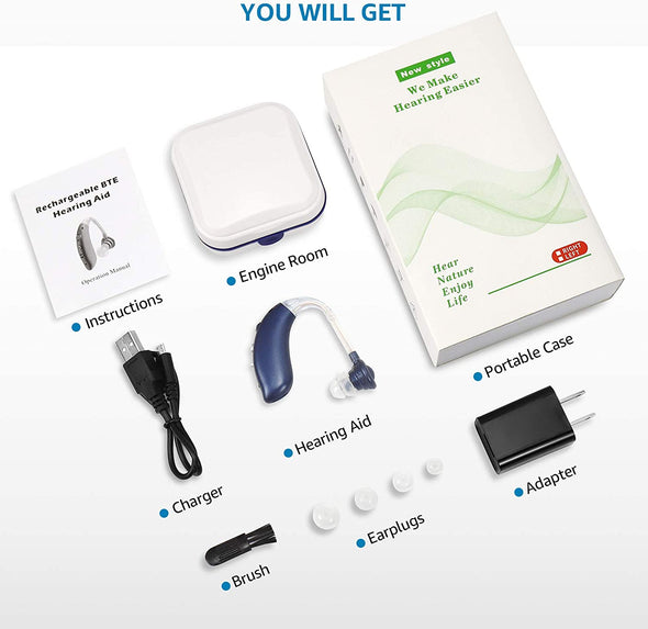 Ihearingaid™ Rechargeable Hearing Aids