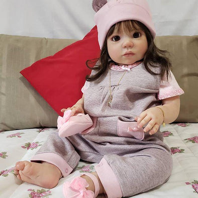 22'' Love For Cutie Life Beautie Gemma Reborn Baby Doll Girl