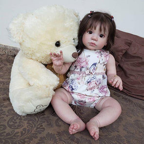 Lifelikelike 22'' Clever Dakota Reborn Baby Doll Girl
