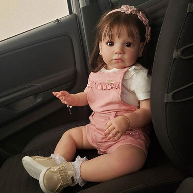 Lifelike 22'' Little Briella Reborn Baby Doll Girl