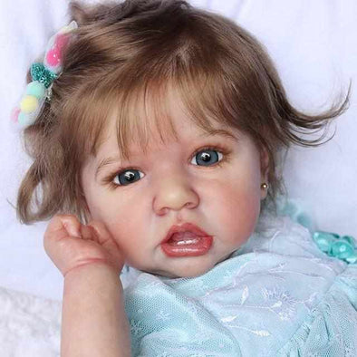 22'' Realistic Sweet Reborn Baby Girl Doll Lizzo