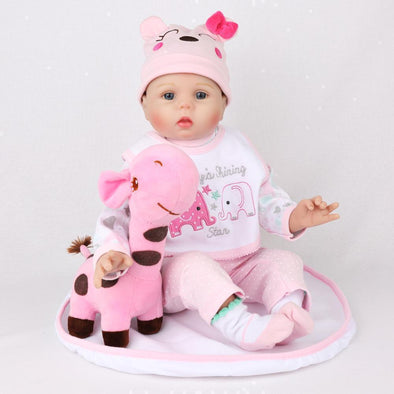 "22"" Little Amia : Reborn Baby Doll Girl - rebornbabygirl"