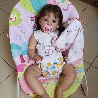 Lifelike 22'' Little Cute Madelyn Reborn Baby Doll Girl