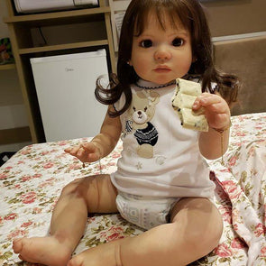 Lifelike 22'' Little Cute Paisley Reborn Baby Doll Girl