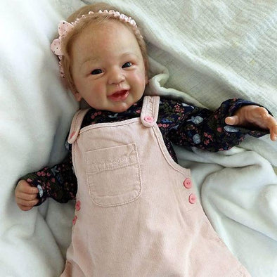 Realistic 21'' Pauline New Silicone Reborn Baby Doll