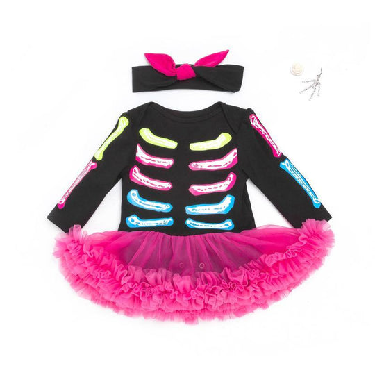 Halloween Skeleton Dress for 20