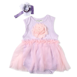 "Reborn Dolls Baby Clothes Purple Dress For 20""- 22"" Reborn Doll Girl Baby Clothing Sets"
