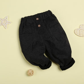 Comfortable Casual Gray Pants For 22'' Reborn Baby Doll Boy/Girl