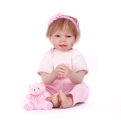 "22"" Little Annabel : Reborn Baby Doll Girl - rebornbabygirl"