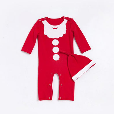 "Christmas Santa Claus Romper Suit for 20""-22"" Reborn Baby"