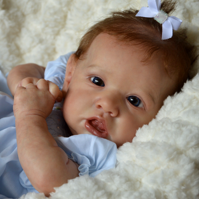 22'' Lucien Realistic Reborn Baby Girl