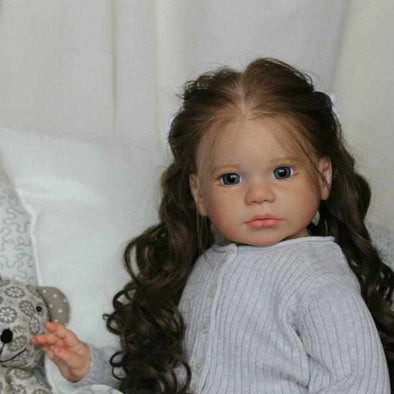 [Special Discount] [NEW] 22'' Mildred Reborn Baby Doll Series Gabriella Girl