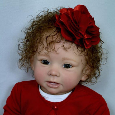 17'' Lifelike Cute Beautie Joanna Reborn Baby Doll Girl