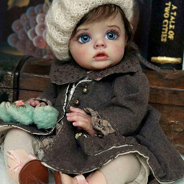 12 '' Lifelike Elonda Reborn Elf Baby Doll Girl - happybarbies