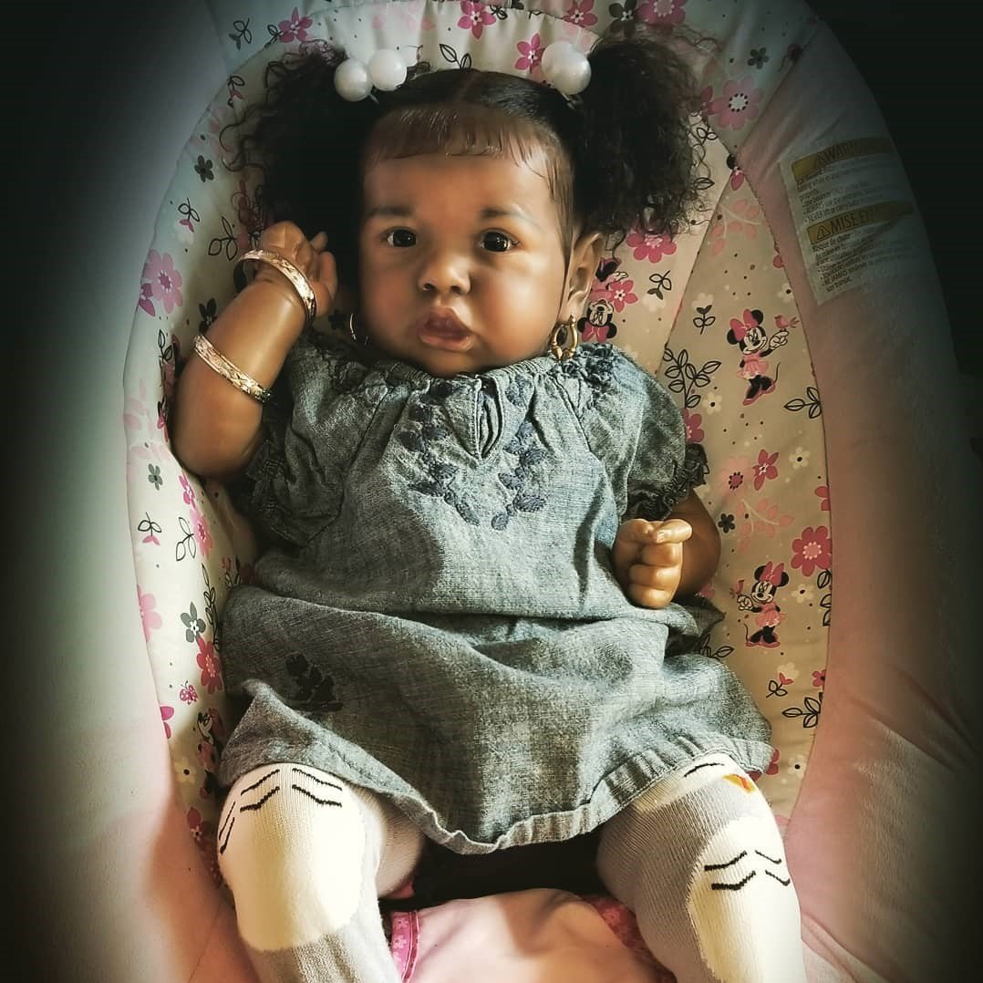 22Inch Randi Truly Reborn Baby Doll Girl,Handmade Baby Doll Toy For Ages 3+