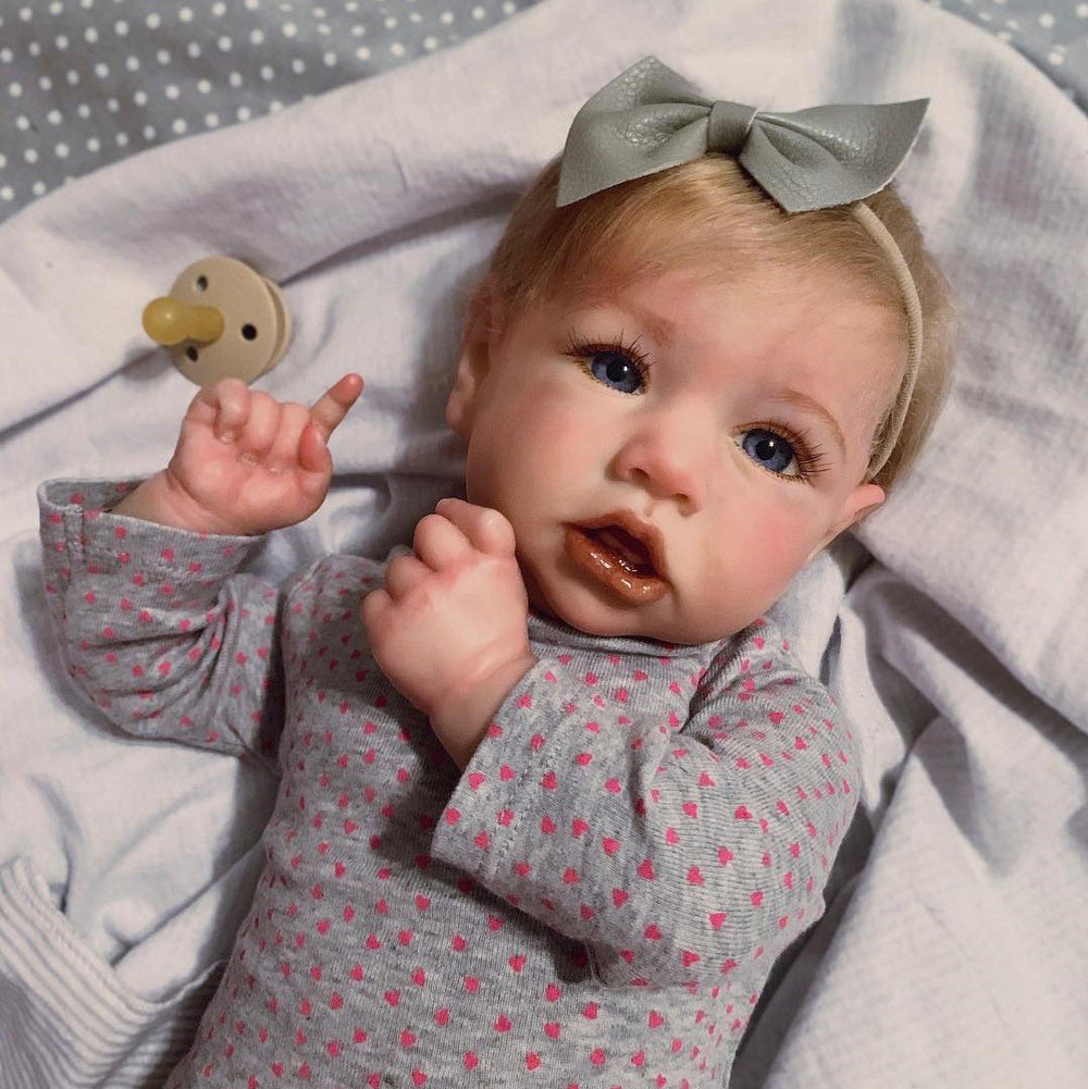 Real Life 22'' Little Cute Joni Reborn Baby Doll Girl