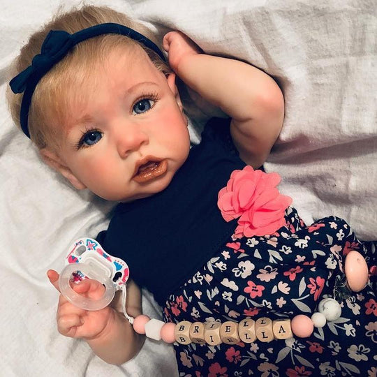 22Inch Little Cute Budey Handmade Reborn Baby Doll Girl