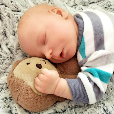reborndollsshop NEW ARRIVALS Lifelike 17.5'' Kimber Reborn Baby Doll Boy by Rebirthdoll® Exclusive