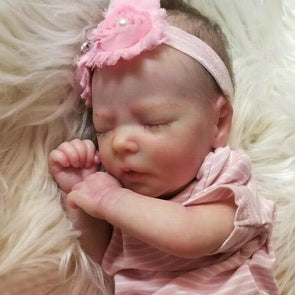 reborndollsshop NEW ARRIVALS Realistic 17.5'' Poppy Reborn Baby Doll Boy-Give for Baby Christmas Gifts