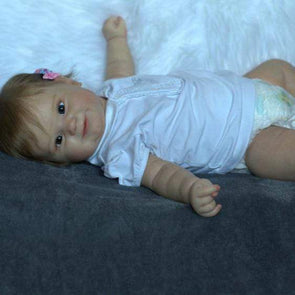 20'' Little Fatima Cute Reborn Baby Doll -Realistic And Lifelike