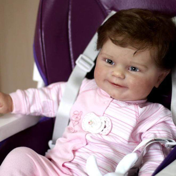 reborndollsshop Series Maddie 22'' Little  Makenzie Cute Reborn Baby Doll -Realistic And Cute