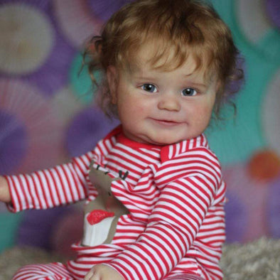 reborndollsshop Series Maddie 22'' Little Riva Cute Reborn Baby Doll -Realistic And Cute